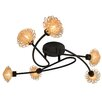 Naeve Leuchten 6 Light Flush Ceiling Light