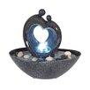 Näve Leuchten LED Brunnen aus Polyresin