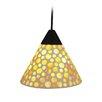 Näve Leuchten Mini-Pendelleuchte 1-flammig Mosaik