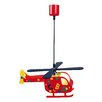 Naeve Leuchten Children's Helicopter 1 Light Pendant