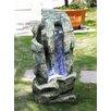 Näve Leuchten Brunnen aus Kunststein