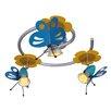 Näve Leuchten Deckenleuchte 3-flammig Schmetterling