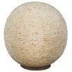 Näve Leuchten 36 cm Tischleuchte Shell
