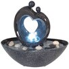 Naeve Leuchten Polyresin LED Fountain