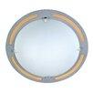 Naeve Leuchten Varius 1 Light Ceiling Light in Silver