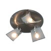 Naeve Leuchten Bow 3 Light Ceiling Spotlight