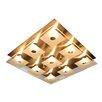 Näve Leuchten Deckenleuchte 9-flammig Simplex