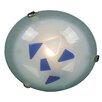 Naeve Leuchten Varius 1 Light Flush Wall Light