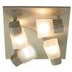 Naeve Leuchten Cube 4 Light Ceiling Spotlight
