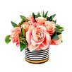 Creative Displays, Inc. Spring Additions Rose Stripe Pot
