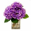 Creative Displays, Inc. Spring Additions Lavender Hydrangea in Acrylic Glass Vase