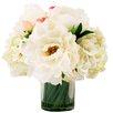 Creative Displays, Inc. White Peonies in Water Vase