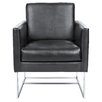 Sunpan Modern Club Agency Arm Chair