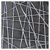 Sunpan Modern Ikon Black Web Painting Print