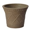 PSW Plastic Pot Planter - Color: Taupe - Arcadia Garden Products Planters