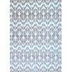 Abacasa Sonoma Silver-Grey/Charcoal/White Area Rug