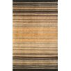 Abacasa Aspen Brooks Hand-Knotted Brown/Black Area Rug