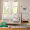 babyletto Fleeting Flora 5 Piece Crib Bedding Set