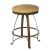 "Createch Siba 24"" Swivel Bar Stool with Cushion"