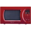 Magic Chef 0.9 Cu. Ft. 900W Countertop Microwave in Red