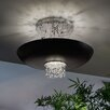 Masiero Empire 9 Light Semi-Flush Mount