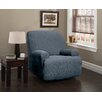 Innovative Textile Solutions Heather Stripe Stretch Recliner Slipcover