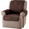 Innovative Textile Solutions Faux Suede Furniture Recliner Slipcover