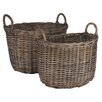 Pacific Lifestyle Bali Kubu Oval Storage Basket