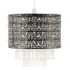 Pacific Lifestyle 34cm Acrylic Drum Pendant Shade