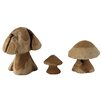 Pacific Lifestyle 3 Piece Decorative Mushroom Set