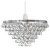 Pacific Lifestyle 26cm Chrome Novelty Pendant Shade