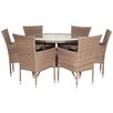 Pacific Lifestyle Auckland 6 Seater Dining Set