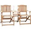 Pacific Lifestyle 2-Sitzer Gartenbank Antibes aus Holz