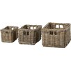 Pacific Lifestyle Kubu 3 Piece Storage Basket Set