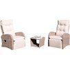 Pacific Lifestyle Madrid 2 Seater Conversation Set with Cushions