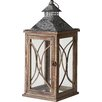 Pacific Lifestyle Telleda Wood/Glass Lantern