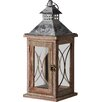 Pacific Lifestyle Kenza Wood/Glass Lantern