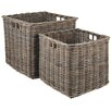 Pacific Lifestyle 2 Piece Kubu Basket Set