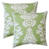 Fox Hill Trading Premiere Home Damask Throw Pillow (Set of 2)