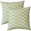 Fox Hill Trading Premiere Home Chevron Throw Pillow (Set of 2)