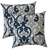 Fox Hill Trading Premiere Home Alex Indoor/Outdoor Throw Pillow (Set of 2)