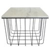 Fox Hill Trading Emery Grid End Table
