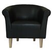 Fox Hill Trading Savannah Club Chair in Black