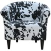 Fox Hill Trading Savannah Cowhide Club Chair