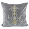 Fox Hill Trading Chandelier Throw Pillow