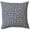 Fox Hill Trading Greek Key Cotton Throw Pillow