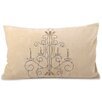 Fox Hill Trading Chandelier Lumbar Pillow