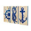 Selamat Marine Trio Panels Wall Art (Set of 3)