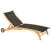 HiTeak Furniture Chaise Lounge