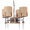 Flambeau Diego 4 Light Drum Chandelier
